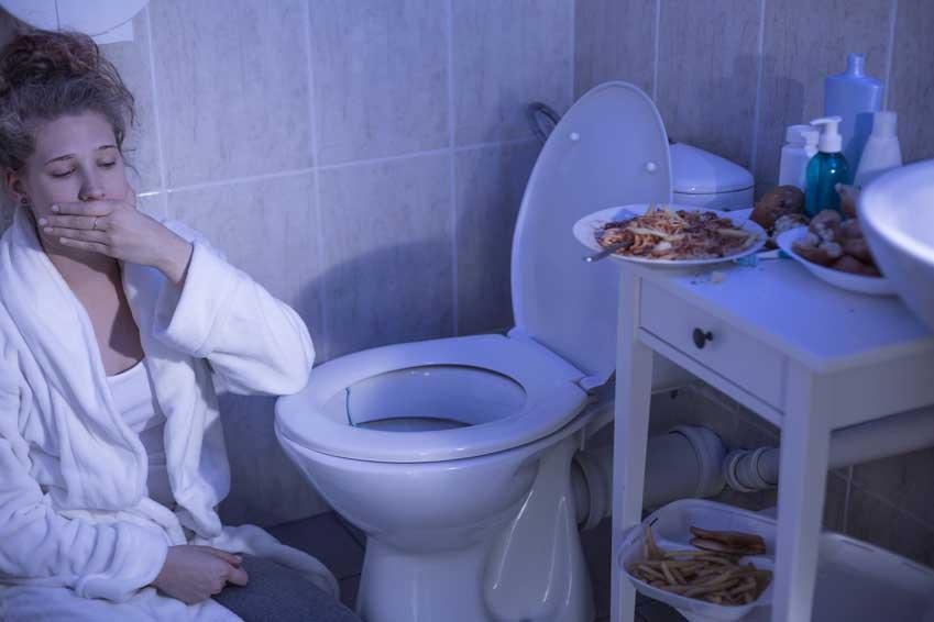 Essstörung Bulimie Fressanfall